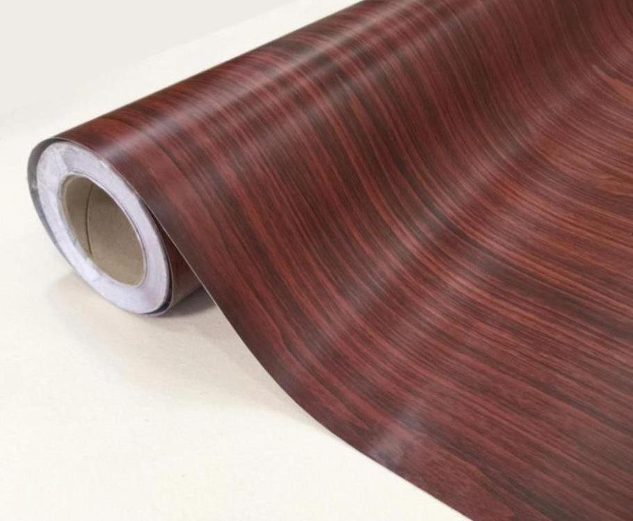 Giấy dán tường vân gỗ óc chó đẹp lịm tim, sống động như thật - NaDu Design