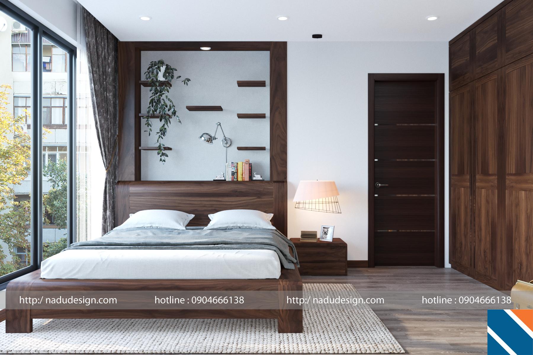 Phòng ngủ master cho vợ chồng gia chủ
