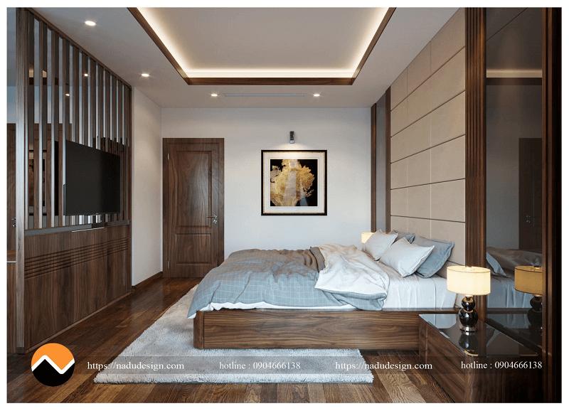Thiết kế nội thất gỗ óc chó nhập Mỹ