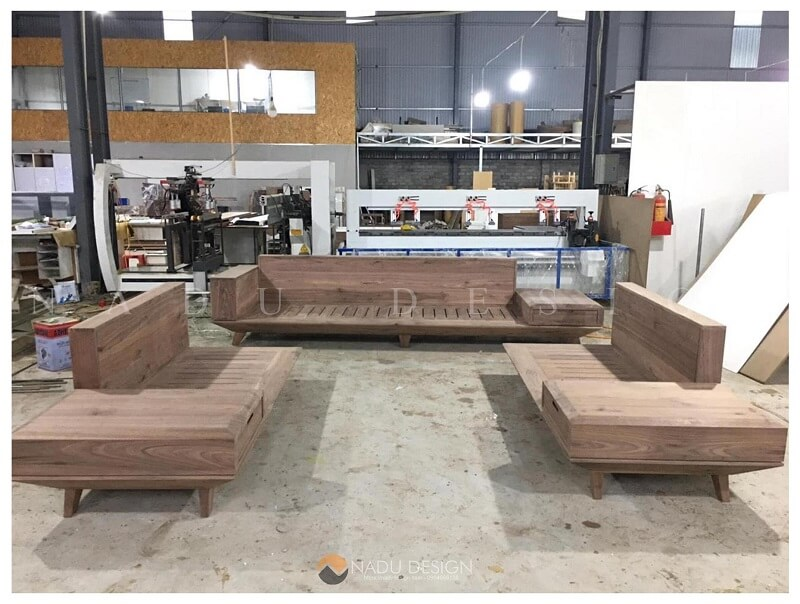 Xưởng sản xuất nội thất gỗ óc chó NaDu Design