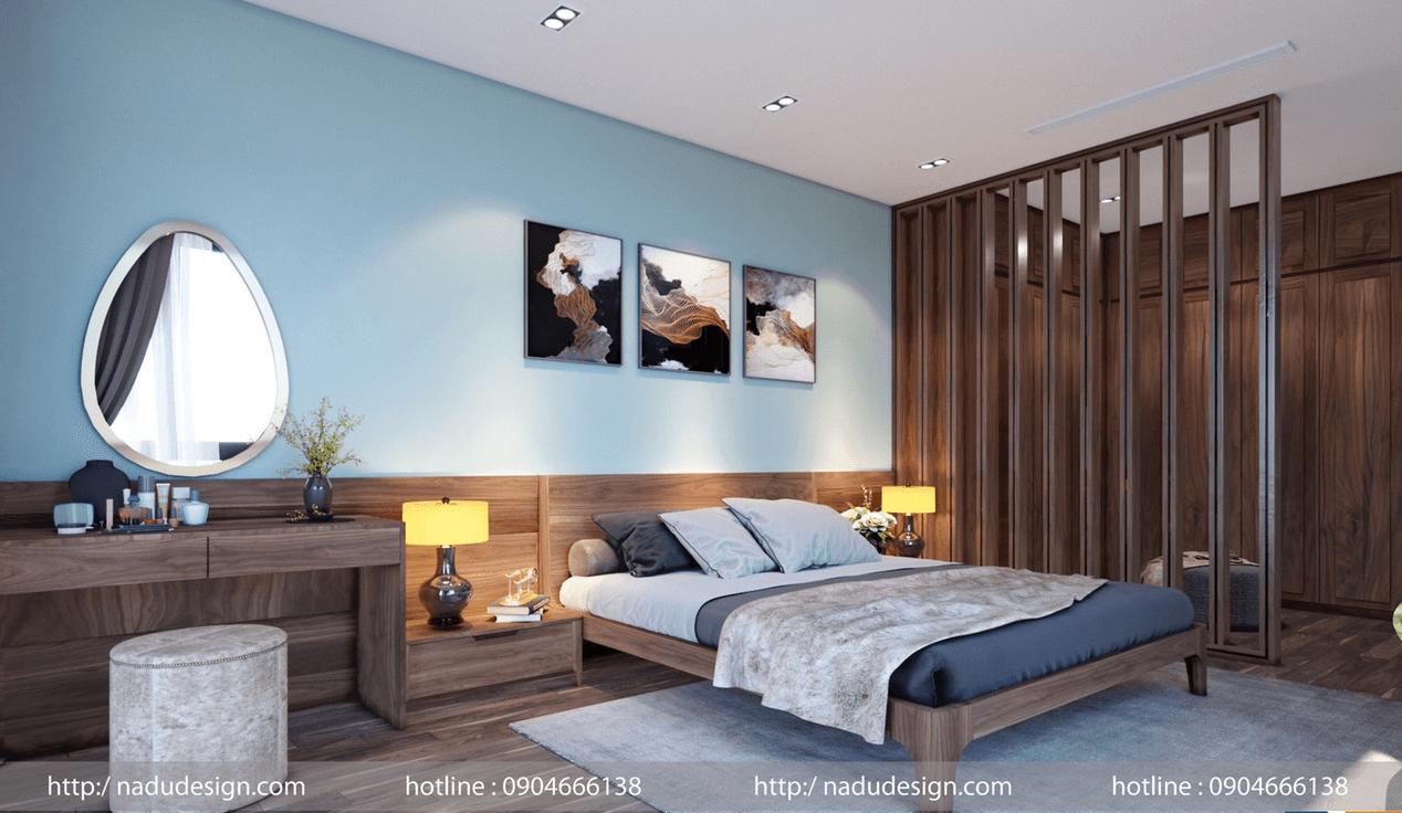 Các mẫu giường gỗ óc chó đẹp bền vững với thời gian