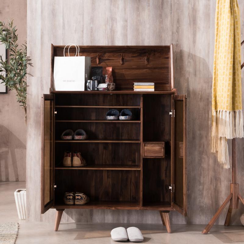 Tủ Giày Baca Gỗ Walnut (Gỗ Óc Chó) - TAM Design Thước Tầm Group