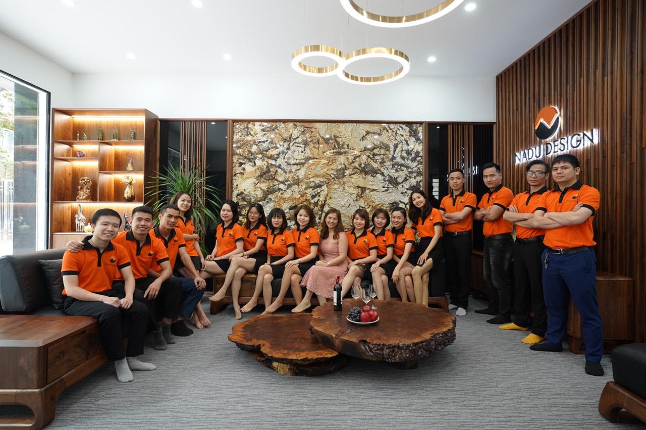 Đội ngũ nhân sự NaDu tại khối văn phòng Hà Nội