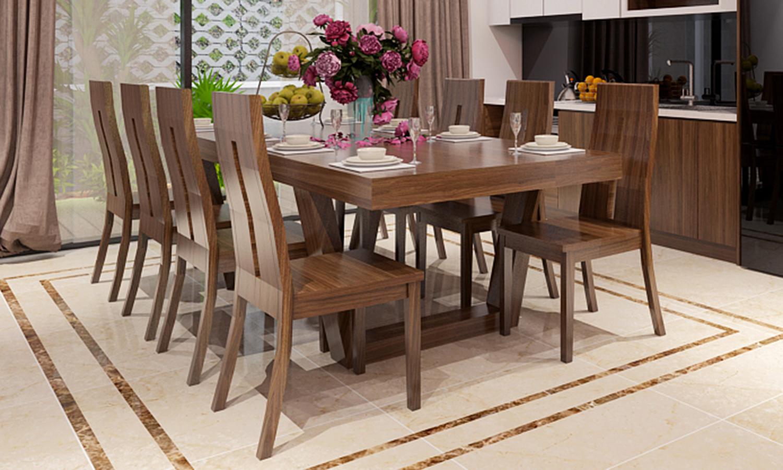 Bộ bàn ghế ăn Trevi – InterArt