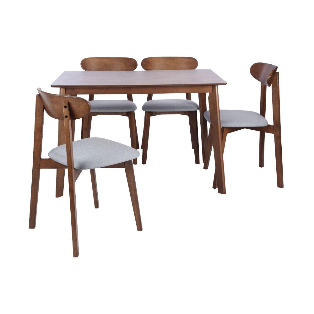 MICHELL Bộ Phòng Ăn Gỗ (1 Bàn + 4 Ghế) 110.0 x 70.0 x 73.5 cm | IndexLivingMall VietNam