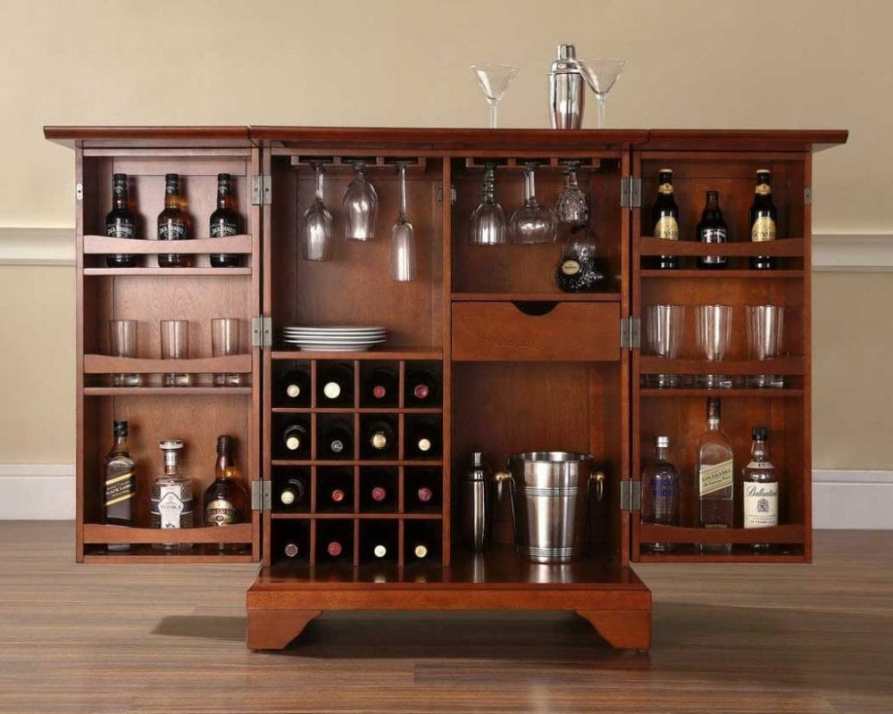 Tham khảo mẫu thiết kế tủ rượu đẹp hiện đại 2020