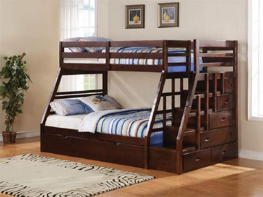 Giường tầng gỗ óc chó