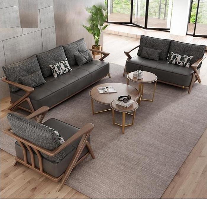 Lựa chọn sofa gỗ óc chó phù hợp với phong cách tổng thể