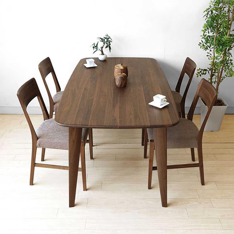 Bàn ăn 4 ghế gỗ óc chó