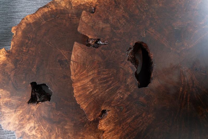 Bàn nu từ gỗ óc chó texture đẹp nổi bật