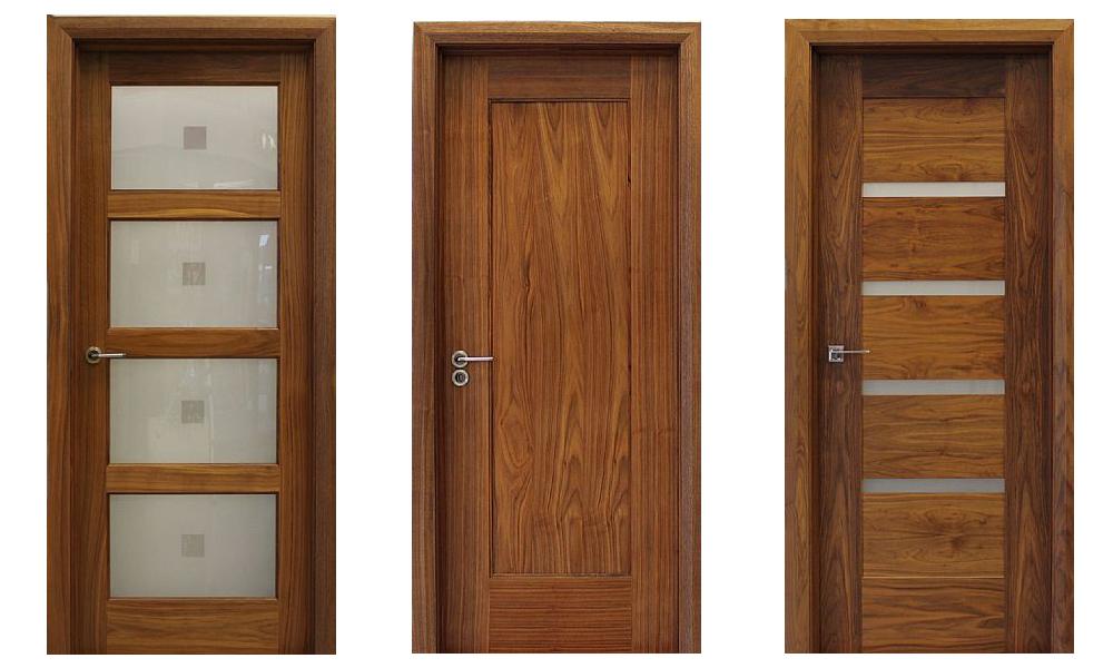 cửa gỗ óc chó đẹp - 1