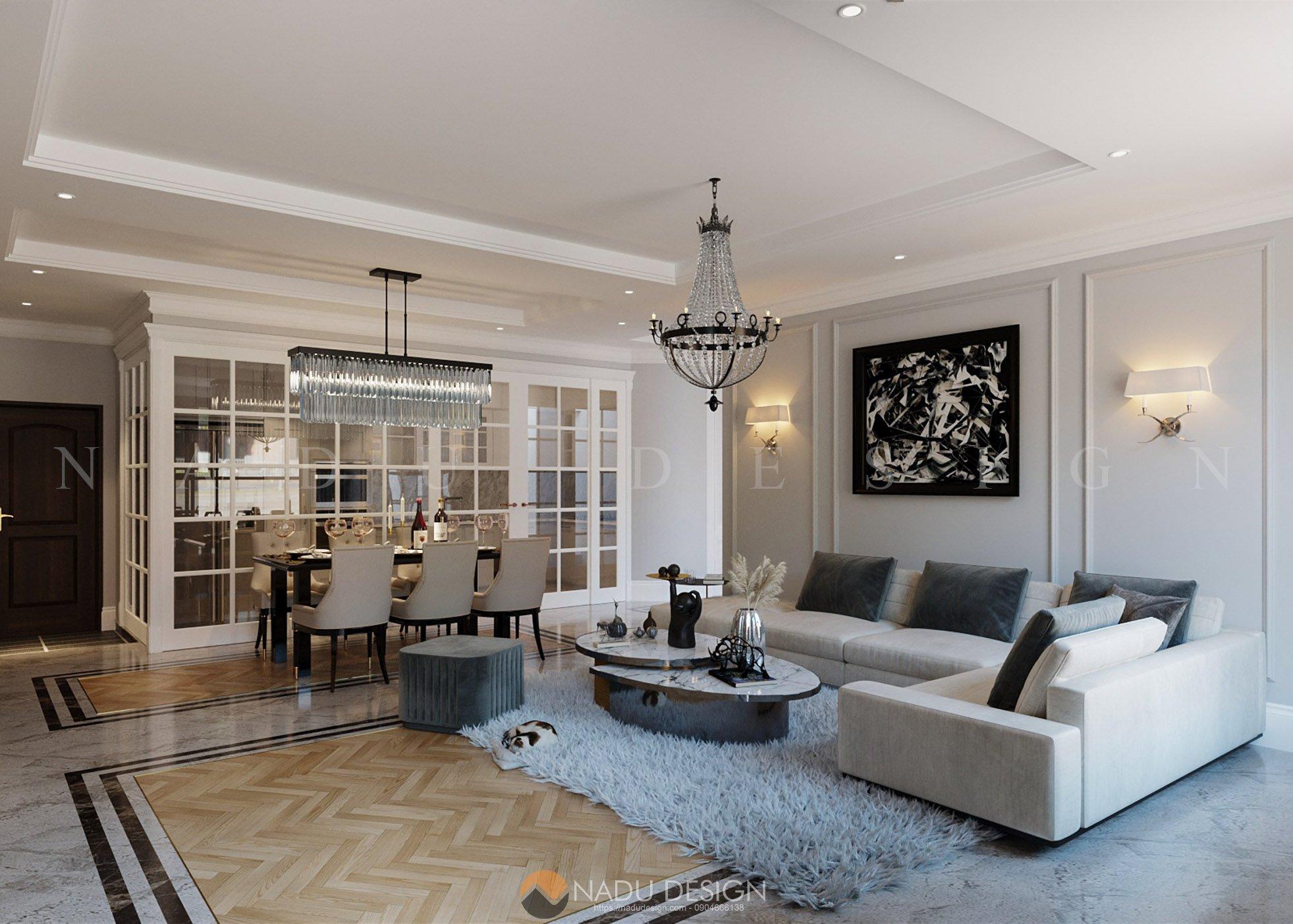 Thiết kế biệt thự Vinhomes siêu chất với nội thất độc lạ