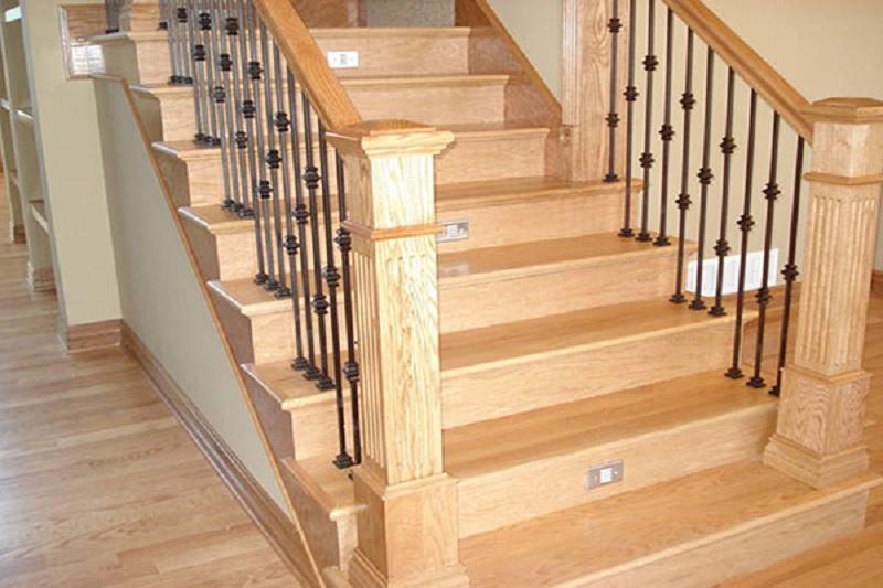 Báo giá mặt bậc cầu thang gỗ sồi | Cập nhật