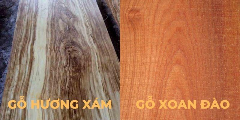 So sánh gỗ hương xám và gỗ xoan đào loại nào tốt hơn?